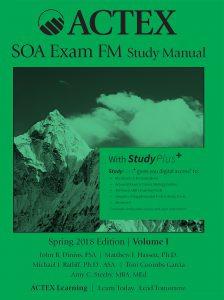 ACTEX SOA exam FM study manual – สิ่งพิมพ์มาใหม่: New Resources Releases