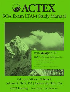 ACTEX SOA exam LTAM study manual – สิ่งพิมพ์มาใหม่: New